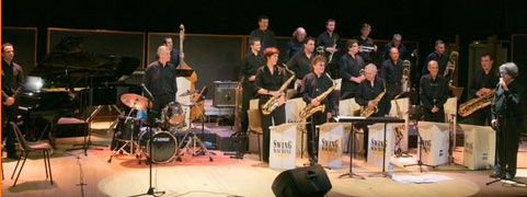 big band de Cahors en concert