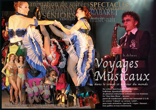 spectacle musical cabaret
